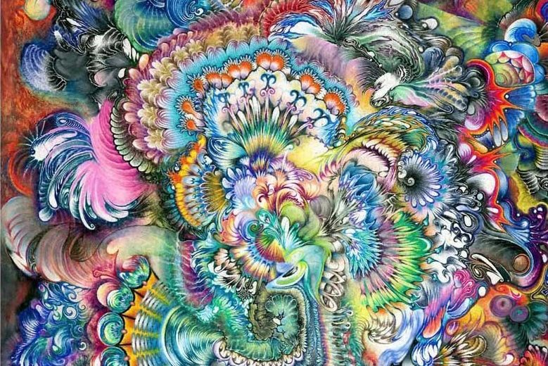 New Psychedelic Trippy Images
