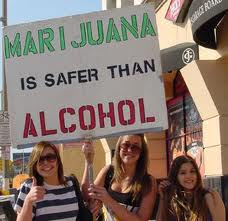 A comparison of Marijuana and Alcohol