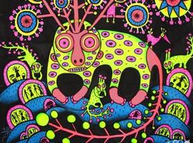 Wild Psychedelic Creatures