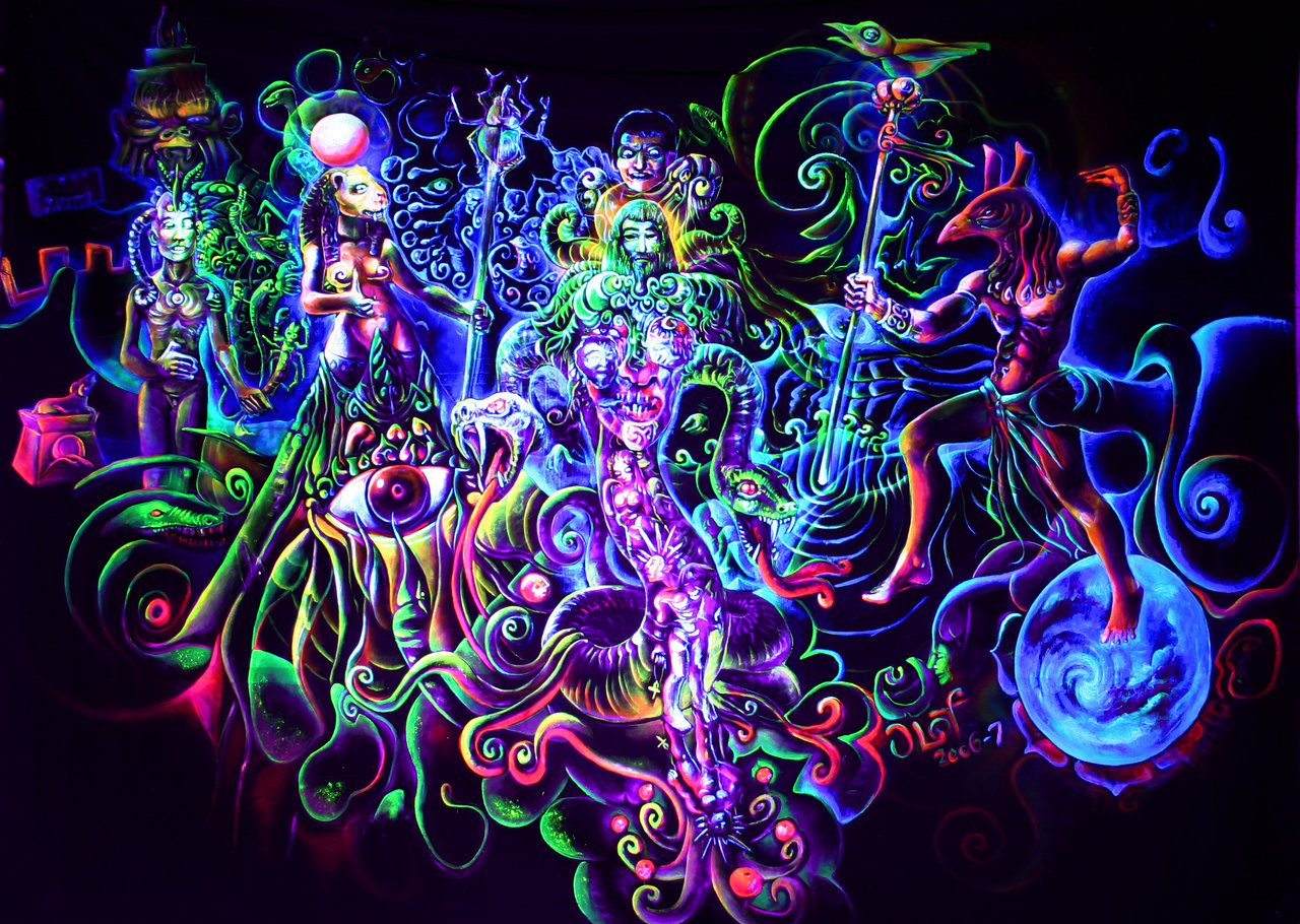 Dmt In Dark Or Light Room