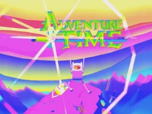Adventure Time Psychedelic Intro